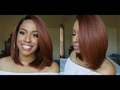 $40 | Gorgeous Copper Bob! | Brown Sugar BS226 Lace Front Wig [Video] - Black Hair Information