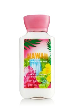 Hawaii Passionfruit Kiss Travel Size Body Lotion - Signature Collection - Bath & Body Works