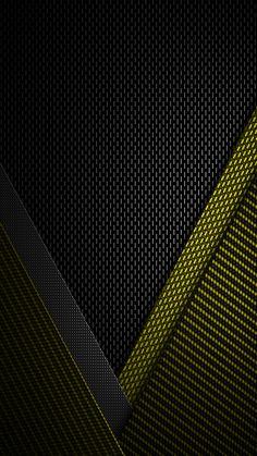 Black and Yellow Textured Wallpaper