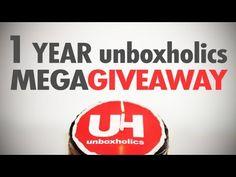 MEGA-GIVEAWAY: 1 Year Unboxholics