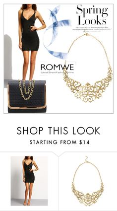 """Bez naslova #106"" by ermina-camdzic ❤ liked on Polyvore featuring H&M, vintage and romwe"