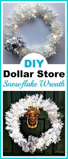 DIY Dollar Store Sno