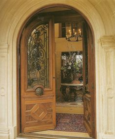 French Styled European Entrance - From Provencial Interiors