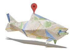 Googleマップを使った「折り紙」 | AdGang