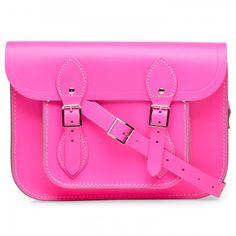 e0659ed63f0bd The Cambridge Satchel Company The Fluoro leather satchel