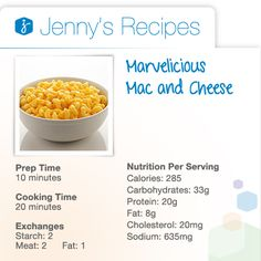 Nothing says comfort food quite like mac and cheese. Try a tasty take on the classic dish with this Marvelicious Mac and Cheese recipe. Garnish your elbow macaroni with fat-free milk, butter, flour, dry mustard and reduced-fat sharp cheddar cheese.