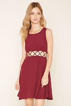 Contemporary Cutout-Waist Dress