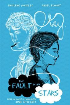 Fan made tfios movie poster. This is good. :)