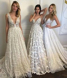 8 Great Tips For Picking The Perfect Wedding Dress. When little girls use their mathematics classes fantasizing of weddings, what do they dream of first? The perfect bridal gown, naturally: a dress in white Dream Wedding Dresses, Bridal Dresses, Bridesmaid Dresses, Prom Dresses, Formal Dresses, Wedding Dressses, Dresses 2016, Modest Wedding, Tulle Wedding