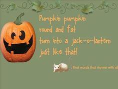 Pumpkin 5 day shared reading kindergarten (smartboard file)