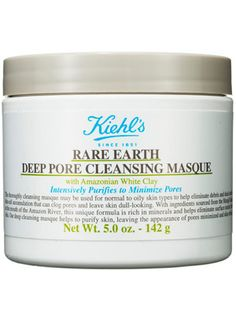 This clay mask from Kiehl's is amazing for oily skin—it tightens the appearance of pores and leaves skin matte.