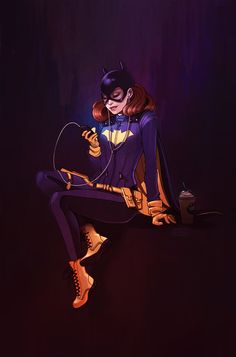 Batgirl of Burnside by ElizabethBeals.deviantart.com on @DeviantArt
