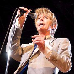 David Bowie at Les Arenes de Nimes 2002