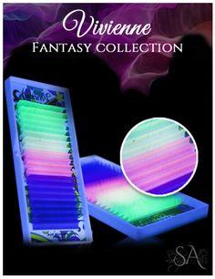 Vivienne Fantasy Color Volume Lash Extensions – The Lash Shop @ Skynlash