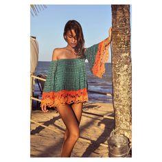 "365 Likes, 12 Comments - G I O V A N A D I A S (@giovana.dias) on Instagram: ""Stunning crochet silver dress!!✨✨#GIOVANADIAS #lovelycrochetdress #gdhandmadeinbrazil▫️"""