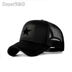 79398ab2d48a73 SuperB&G 2018 Fashion Summer Baseball Cap Women Men Mesh Breathable  Snapback Cap Unisex Adjustable Sport Hats Dad Hat Bone
