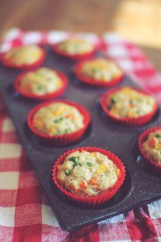 Chicken Pot Pie Muffins