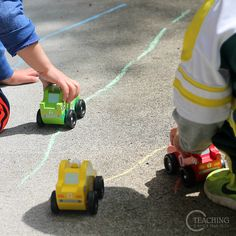Toddler Race Car Counting: Toddlers love cars! ** Well, they love anything on wheels. But cars seem to be the biggest hit. We've done many activities in our classroom involving cars, even painting with them! So, I just knew this toddler race car counting activity was going to be popular.