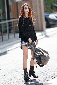 Korean Fashion , Korean girls