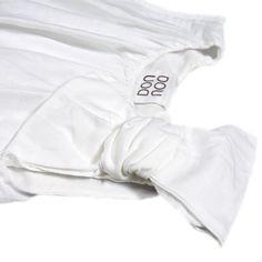 Da 2 anni a 12 anni Abito lungo senza maniche in lino fodera all'interno in jersey di cotone. Impreziosito da grazioso fiocco sulla spalla P/E 2016