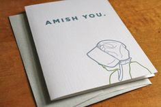 Amish You Card by Colette