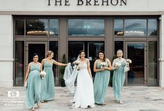 Laura chose this striking pastel green colour for her bridesmaids as part of her summer colour scheme. Photo by K Photography Summer Wedding Colors, Summer Weddings, Real Weddings, Wedding Suits, Our Wedding, Wedding Venues, Bridesmaids, Bridesmaid Dresses, Wedding Dresses