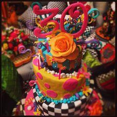 MacKenzie-Childs Cake