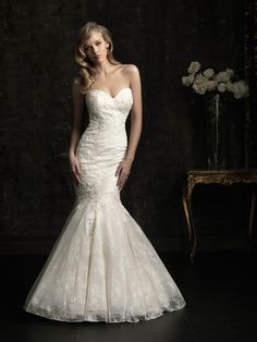 Shop Allure Bridals: Style: 8967  Love the shape, not the lace