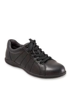 Softwalk Black Hickory Casual Lace Up