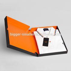 2015 New Design Custom Foldable T-shirt Packaging Box