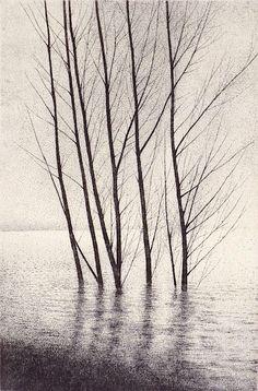 Shigeki Tomura : Thawing Snow II at Davidson Galleries