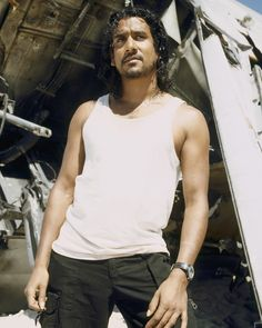 "Lost S1 Naveen Andrews as ""Sayid Jarrah"""