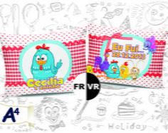 Almofadas personalizadas p/ aniversário