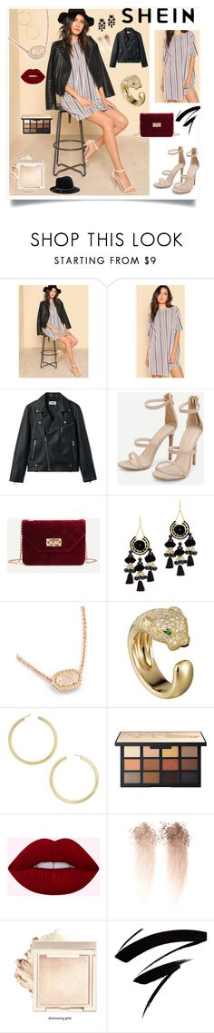 """""""Shein"""" by eldinreham ❤ liked on Polyvore featuring Area Stars, BaubleBar and Eugenia Kim"""