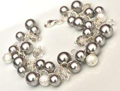 Silver Pearl Bracelet