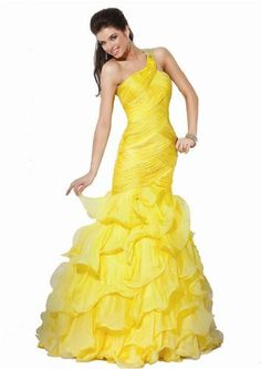 Gorgeous yellow color!! Jovani 158934 « Clothing Impulse