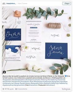 Escribir tus invitaciones de boda a mano y otros detalles de papelería nupcial - Foto 2