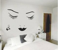 made by chart paper and wall glue..seems very pretty and cool and gives a descent look :)