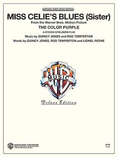 Miss Celie's Blues (Sister) free piano sheet music with downloadable PDF.