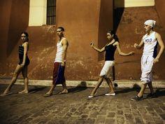 Contemporary dancers in Camaguey, Cuba