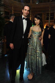 Fritz von Westenholz and Caroline Sieber attend the La Traviata opening gala at the Rome Opera House on May 22, 2016 #ValentinoLaTraviata