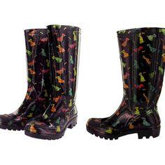 Rain shoes! so cute