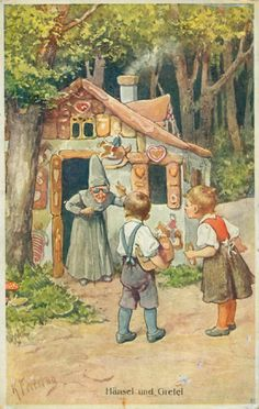 1812- The story of Hansel & Gretel is first published in Germany. Later historians will argue about whether the story inspired gingerbread, already popular in Germany for centuries, to be shaped into miniature houses, or whether miniature gingerbread houses helped inspire the story.
