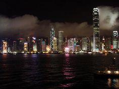 The stunning Hong Kong skyline