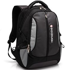 Paydugh Business Backpack Laptop Backpack Travel Backpack School Backpacks Sports 17 or 19inch (Grey 19 inch) PAYDUGH http://www.amazon.com/dp/B00N1R3Y2U/ref=cm_sw_r_pi_dp_qJrXub1G5X553