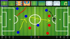Tactics Board // Draw your tactics for your team on this tactics board. Use it as clipboard during you training or games. Easy, clean and quick. This is a must have app for every coach. TacticsBoard can be used for almost every sport.