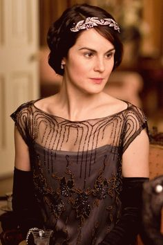 If only I could have a Downton dress as my grad dress...