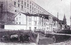 Vista general de la zona de la puerta de San Francisco en 1919.
