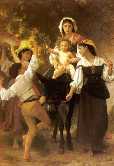 William-Adolphe Bouguereau, Return from the Harvest