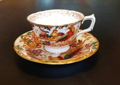 Vintage Royal Crown Derby English bone china by darcyelizavintage